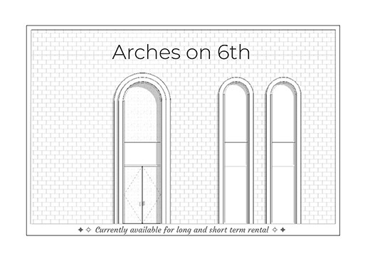 Arches on 6th